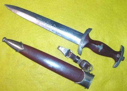 Nazi SA Dagger by Karl Kaldenbach with Hanger...$475 SOLD
