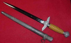 Nazi Luftwaffe Officer's 2nd Model Dagger by Weyersberg...$450 SOLD
