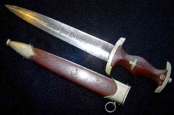 Nazi SA Dagger by JACOBS & Co. with Scarcer BERLIN Gau Marking...$475 SOLD