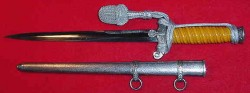 Nazi Army Officer's Dress Dagger by Eickhorn with Portapee...$575 SOLD