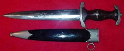 "Nazi ""Ground Roehm"" Dagger by Carl Eickhorn (possible re-painted scabbard)...$350 SOLD"