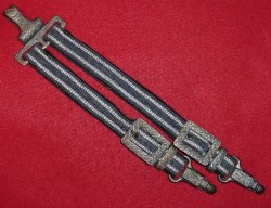 Nazi Luftwaffe Deluxe Dress Dagger Hangers...$175 SOLD