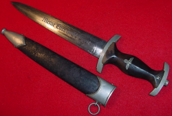 Nazi SS EM Dress Dagger by Robert Klaas...$1,550 SOLD
