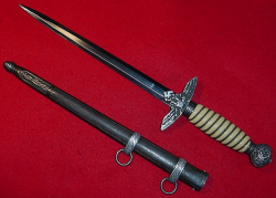 Nazi Luftwaffe Officer's Dagger by Alcoso...$495 SOLD