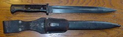 Nazi K98 Bayonet with Frog...$85 SOLD