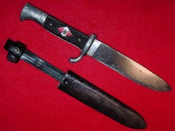 Nazi Hitler Youth Knife by WKC...$225 SOLD