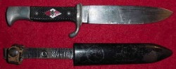 Nazi Hitler Youth Knife by Eduard Gembruch, Solingen-Grafrath...$295 SOLD