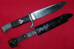 Nazi Hitler Youth Knife Marked RZM M7/72 1940...$325 SOLD