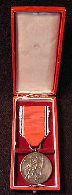 Nazi 1938 Austrian Annexation Medal with Case...$95 SOLD