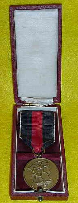 Nazi Sudeten Annexation Medal with Case...$110 SOLD