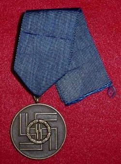Nazi SS 8-Year Long Service Medal...$550 SOLD