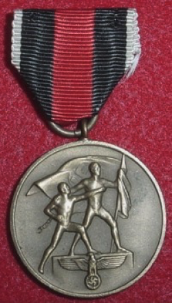 Nazi Sudetenland Annexation Medal...$50 SOLD