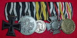 Imperial Prussian/German Five-Medal Bar...$325 SOLD