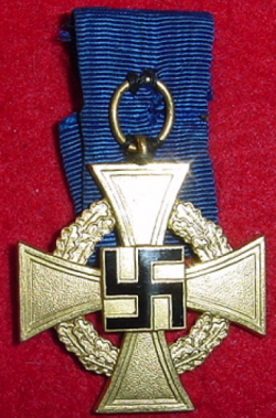 Nazi 40-Year Faithful Service Medal...$75 SOLD
