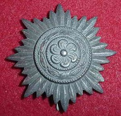 Nazi Ostvolk Eastern People's Bravery Badge in Silver by Wachtler & Lange...$110 SOLD