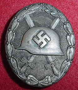 Nazi Silver Wound Badge...$75 SOLD