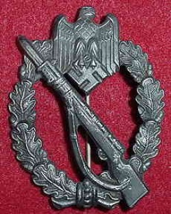 Nazi Infantry Assault Badge by S.H.u.Co...$110 SOLD