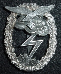 Nazi Luftwaffe Ground Assault Badge by R.K...$375 SOLD