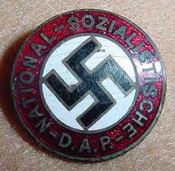 Nazi NSDAP Party Pin Badge...$60 SOLD