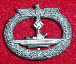 Nazi Kriegsmarine U-Boat War Badge...$450 SOLD