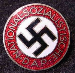 Nazi NSDAP Party Member's Pin Badge...$95 SOLD
