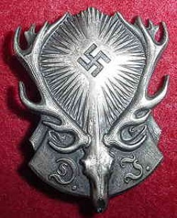 Nazi Jagerschaft Hunting Association Member's Badge...$110 SOLD
