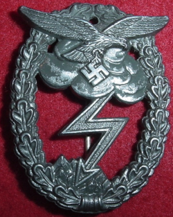 Nazi Luftwaffe Ground Assault Badge...$150 SOLD
