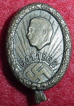 Nazi 1932 Election Badge...$65 SOLD