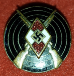 Nazi Hitler Youth Marksman's Badge...$80 SOLD