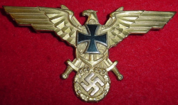 Nazi Soldatenbund Breast Eagle...$75 SOLD