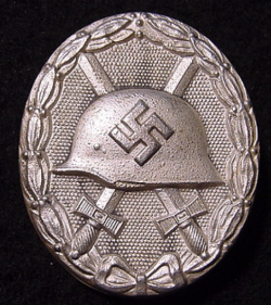 "Nazi Silver Wound Badge Marked ""92""...$95 SOLD"