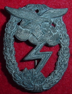Nazi Luftwaffe Flak Artillery Badge...$115 SOLD