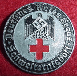 Nazi DRK Sisterhood Service Badge...$85 SOLD