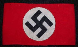 Nazi SS Wool Multi-Piece Armband with SS-RZM Tag...$195 SOLD