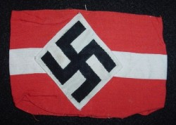 Nazi Hitler Youth Armband...$70 SOLD