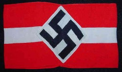 Nazi Hitler Youth Armband...$95 SOLD
