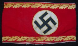 Nazi Political Leader's Kreisleitung Level Armband...$375 SOLD
