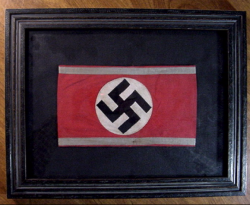 Nazi SA Reserve Armband in Professional Frame...$145 SOLD