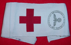 Nazi Red Cross Volunteer Armband...$110 SOLD