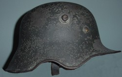 Nazi M1918 Ear Cut-Out Transitional Cavalry Helmet...$595 SOLD