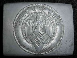 Nazi Hitler Youth Belt Buckle by F.W. Assmann & Sohne...$90 SOLD