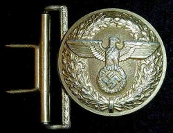 Nazi Political Leader's Belt Buckle by Dicke...$115 SOLD