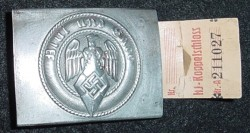 Nazi Hitler Youth Belt Buckle with RZM Tag...$110 SOLD