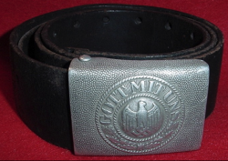 Nazi Army EM Belt with Buckle...$95 SOLD