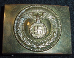 Nazi SA Belt Buckle with Static Swastika...$140 SOLD