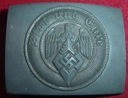"Nazi Hitler Youth Belt Buckle Marked ""RZM M4/24""...$75 SOLD"