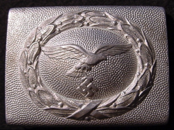 Nazi Luftwaffe EM Belt Buckle by C.T.D...$85 SOLD
