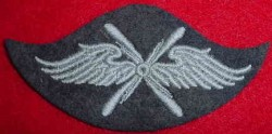 Nazi Luftwaffe Flight Personnel Specialty Patch...$20 SOLD