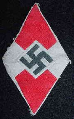 Nazi Hitler Youth Sleeve Patch...$35 SOLD