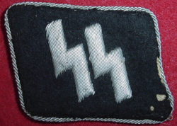 Nazi SS Officer's Collar Tab...$450 SOLD